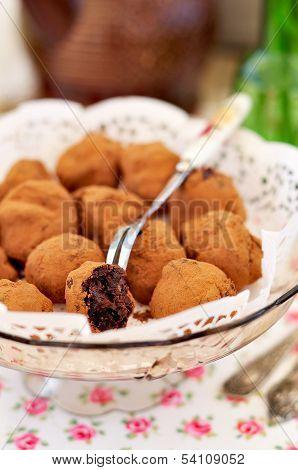 Chocolate Prune Truffles