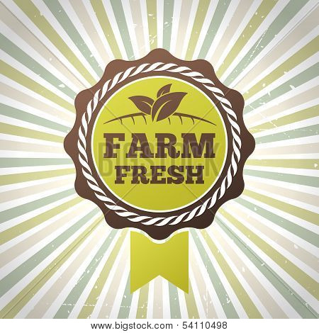 Farm Fresh Organic Eco Label