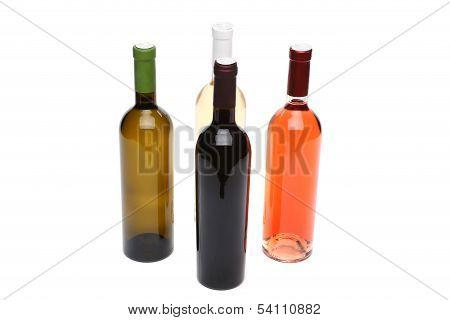Four bottles of wine.