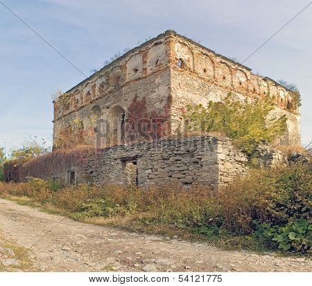 old ruined synagogue