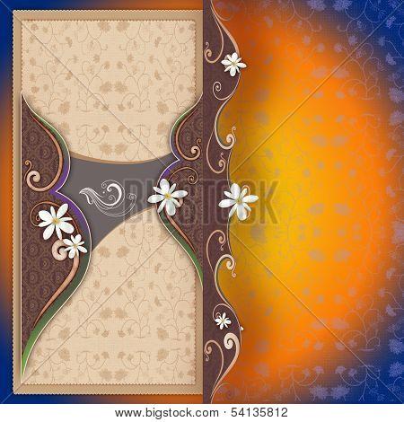 etnik weddingcard