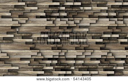 Texture Made From Old Wood Planks