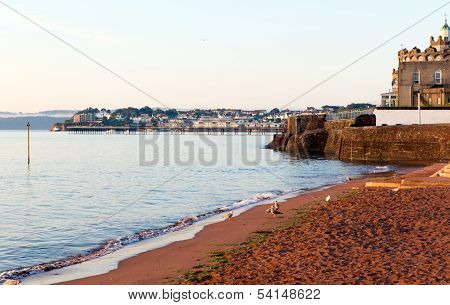 Paignton Torbay Devon England near tourist destinations of Torquay and Brixham