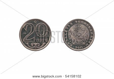 Kazakh Coin Twenty Tenge