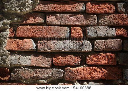 Brick Wall Surface Background
