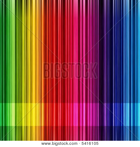 Rainbow Striped Background