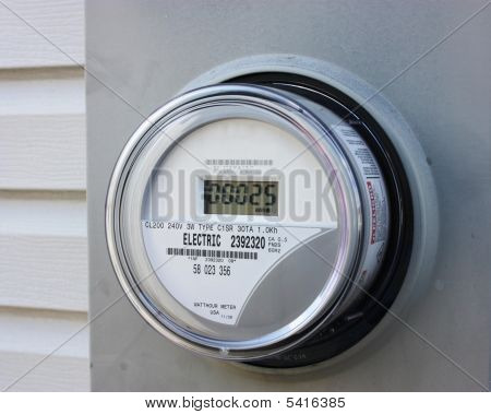 Electrical Usage Meter.