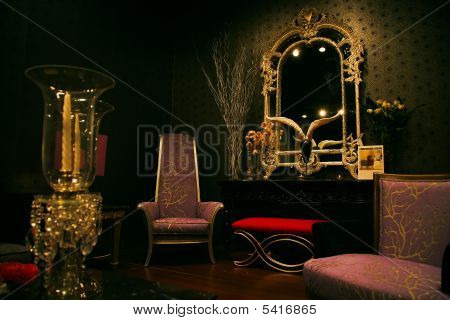 Mysterious And Chic Furniture Set