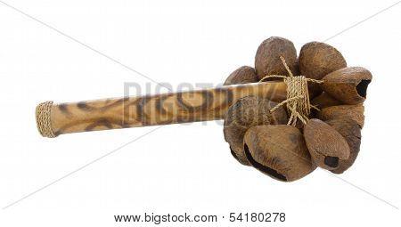 Calabash rattle