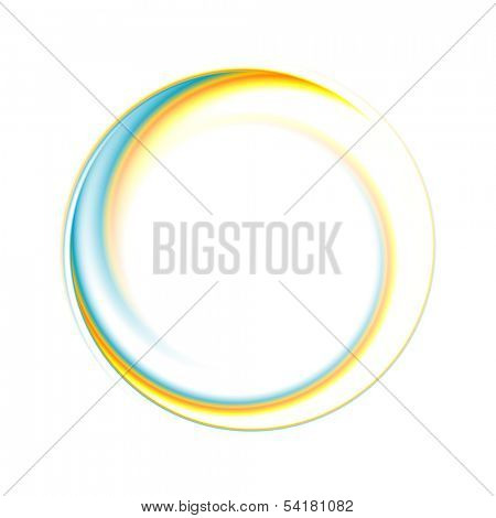 Abstract circle bright background. Vector logo eps 10