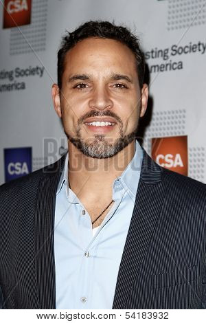 NEW YORK-NOV 18; Actor Daniel Sunjata attends the CSA 29th Annual Artios Awards ceremony at the XL Nightclub on November 18, 2013 in New York City.
