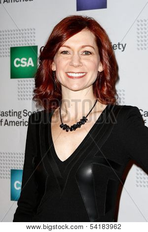 NEW YORK-NOV 18; Actress Carrie Preston attends the CSA 29th Annual Artios Awards ceremony at the XL Nightclub on November 18, 2013 in New York City.