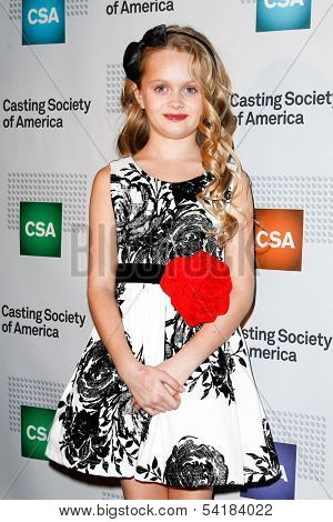 NEW YORK-NOV 18; Actress Hannah Nordberg attends the CSA 29th Annual Artios Awards ceremony at the XL Nightclub on November 18, 2013 in New York City.