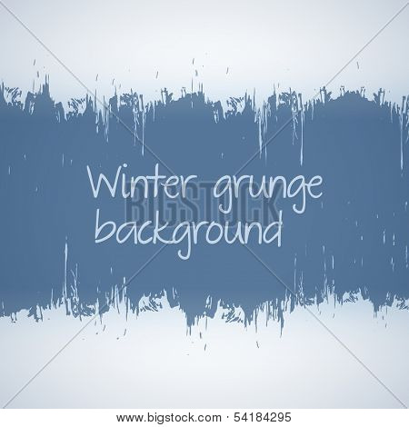 Abstract ice scratch grunge scraped background