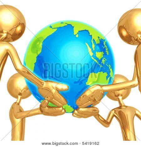 Welt in unseren Händen