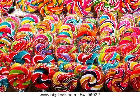 Colorful Sweet Lollipop