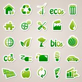 stock photo of sustainable development  - Icons for web design - JPG