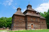 Antique Wooden Church