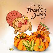 picture of brinjal  - Happy Thanksgiving Day celebration flyer - JPG