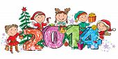 image of new years baby  - New Year - JPG