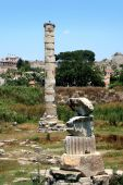 stock photo of artemis  - Antiquity greek city  - JPG