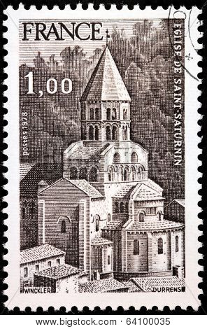 Saint-saturnin Stamp