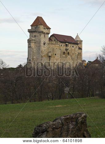Liechtenstein Castle In Austria
