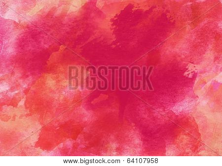 Colorful Watercolor Background.