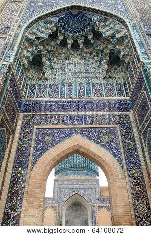 Tomb of Timurlane, Samarkand, Uzbekistan