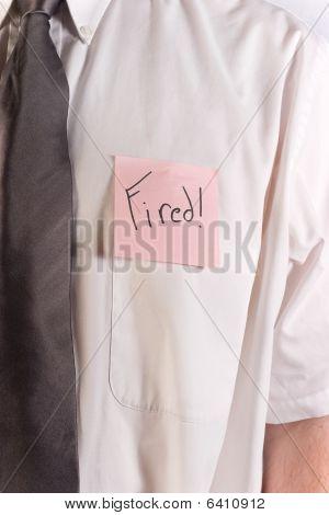 Fired Shirt