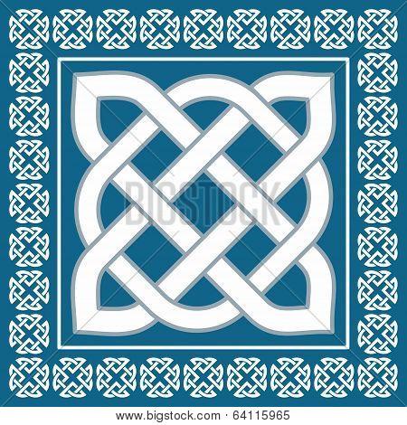 Traditional Irish Celtic Knot Motif,vector Illustration