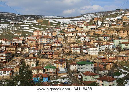 hillside village of Tacir, Turkey