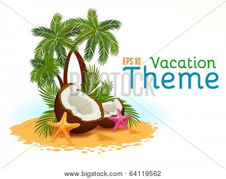 Vector Vacation Theme
