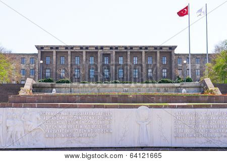 Ankara, Turkey - Grand National Assembly Building