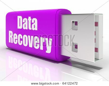 Data Recovery Pen Drive Means Convenient Backup Or Data Restorat