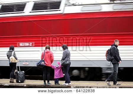Train And Passengers