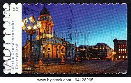 Postage Stamp Germany 2013 Gendarmenmarkt, Berlin