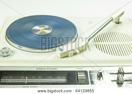 1960's Retro Record Player
