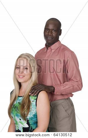 Young Mixed Race Couple