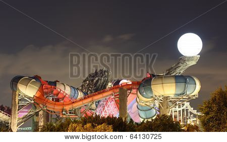 Amusement Park In Abu Dhabi