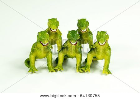 Toy Dinosaurs: T-rex