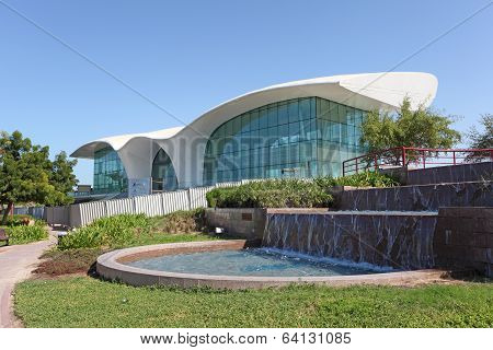 Formula One Cafe in Abu Dhabi