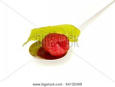 Raspberry On A Teaspoon