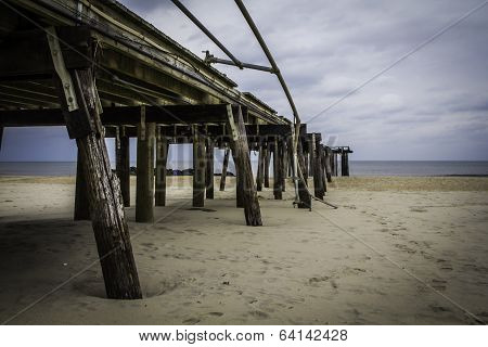 After Hurricane Sandy: Ocean Grove, New Jersey Fishing Pier