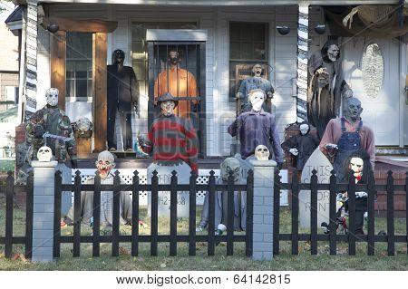 Extreme Halloween Decorating