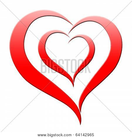 Red Heart Means Romanticism Passion And Amour