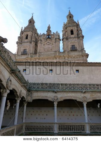 pontifical university and clergy of Salamanca in Spain