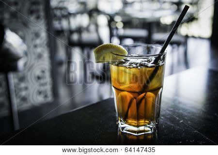 Iced Cold Refreshing Iced Tea