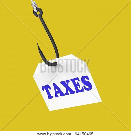 Taxes On Hook Means Taxation Or Legal Fees