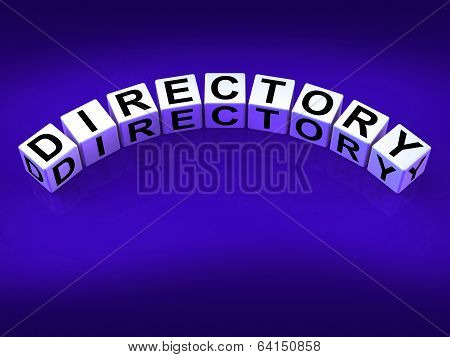 Directory Blocks Show Data Organized In Order